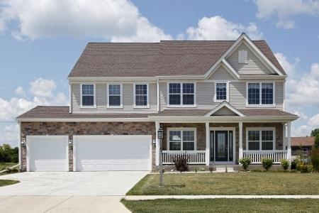 photo of suburban home, Missouri house