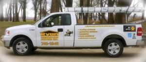 Ryan Construction Systems, Inc truck