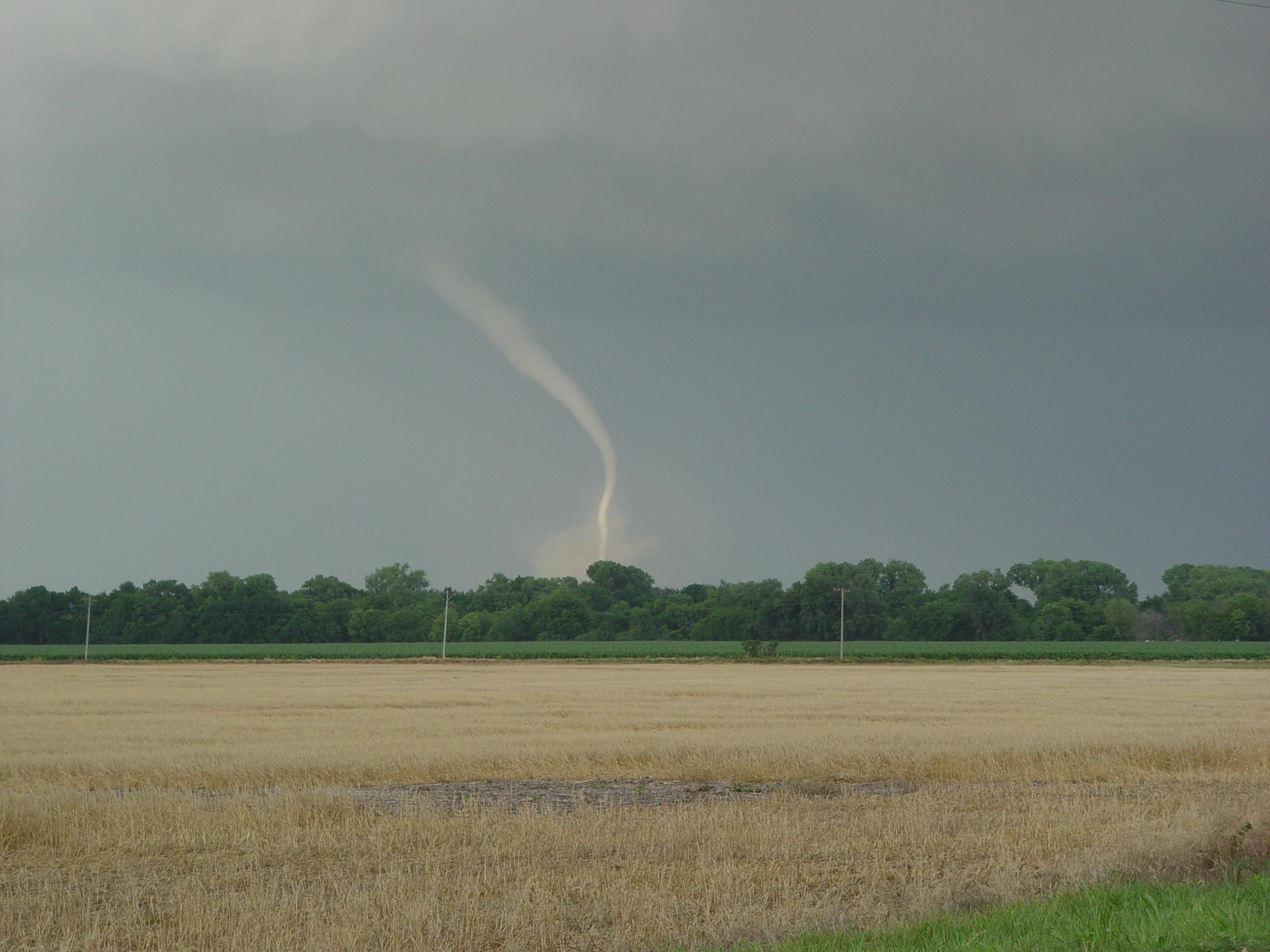 photo of storm, tornado