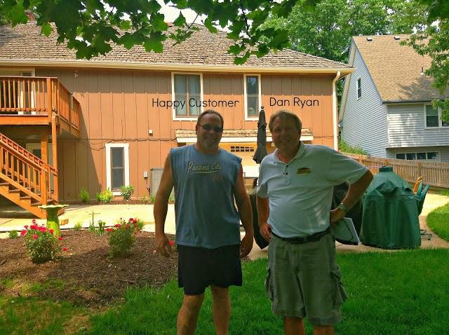 Ryan Construction happy customer